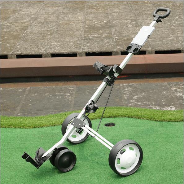 Espectacular Carrito de Golf plegable de aleación de aluminio de tres ruedas - El Consumidor.Org