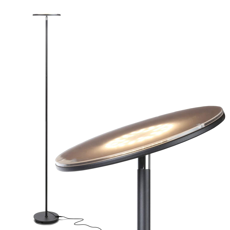 Moderna lámpara de pie de sala de estar - El Consumidor.Org