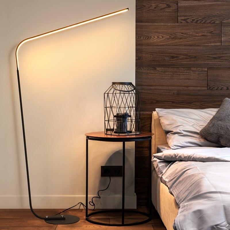 Minimalista lámpara de pie LED - El Consumidor.Org