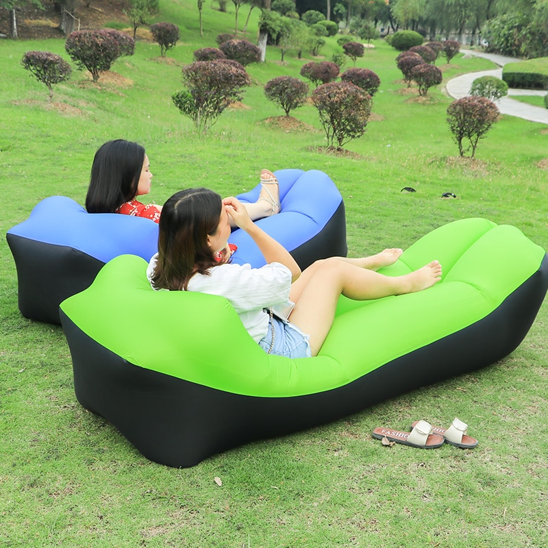 Bonito Sofá hinchable de Camping al aire libre - El Consumidor.Org