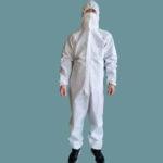 trajes para desinfectar